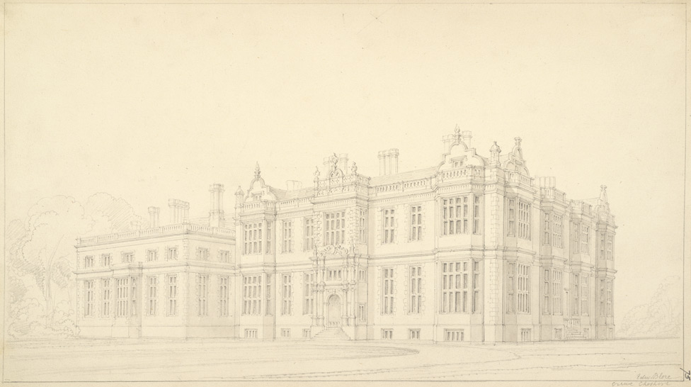 Design for Crewe Hall, Cheshire f75